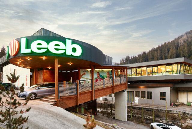 Sedež podjetja Leeb Balkone GmbH v Gnesau